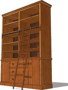 for sketchup user you can download here the basic bookcase 3d model sketchup 8 383 kb