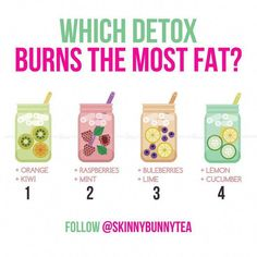 """- Reduce Bloating and lose weight FAST with these recipes! – … ""- Reduce bloating and lose FAST weight with these @ Skinnybunnytea recipes! Smoothie Detox, Cleanse Detox, Detox Tea, Skin Detox, Diet Detox, Juice Cleanse, Full Body Detox, Detox Your Body, Digestive Detox"