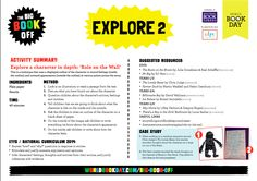 World Book Day may be over but that doesn't mean the fun has to stop. This week why not explore one of the Planet Zee characters in depth? Maybe you want to explore Rottie's appearance, or why Fozzy reacts to the Zutterflies the way he does – follow the Explore work sheet supplied by @WorldBookDayUK. Let us know how you get on. http://1jedk1xgcj74afi5d3cvra21.wpengine.netdna-cdn.com/…/E…