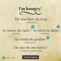 French Slang, French Grammar, French Phrases, French Quotes, Basic French Words, How To Speak French, Learn French, Learn English, English English