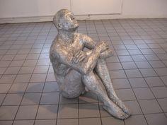 Gerard Cerini, Sky, aluminum foil, 36x36 inches, 2003