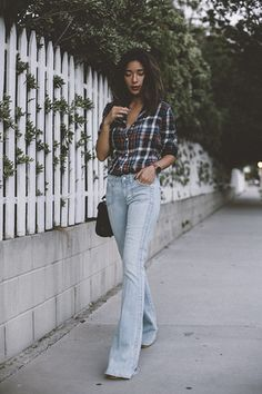 Outfit inspiratie: flared jeans | NSMBL.nl