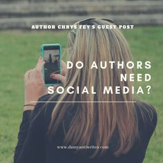 Do authors need social media?