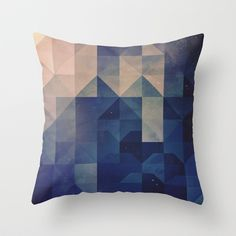 hystyry Throw Pillow by Spires - $20.00