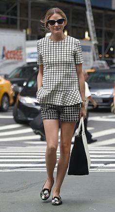 Olivia Palermo con look de Zara. Lo tienes en la web. Al alcance de todas.