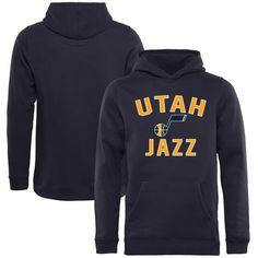 Utah Jazz Youth Victory Arch Pullover Hoodie - Navy - $44.99
