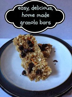easy, delicious granola bars