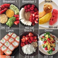 Here are Three Meal Plan ideas for the new week✨🍱✨ *Swipe to see all! Calories + recipes below :) x NUTRITION TIP💪⭐️ How to Stay on Track. Create a list of recipes you like.The more you prepare them, the more familiar of their calories Healthy Meal Prep, Healthy Snacks, Healthy Eating, Healthy Recipes, Healthy Tips, Easy Recipes, Dinner Recipes, Healthy Weight, Protein Recipes