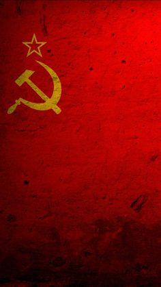 Soviet Union Flag wallpaper by Yugoslavian - - Free on ZEDGE™ Communist Propaganda, Propaganda Art, Colorful Wallpaper, Galaxy Wallpaper, Soviet Union Flag, Flag Icon, Art Folder, Red Army, Communism