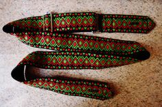 Guitar Strap Made in Florence di EliCreates su Etsy, €29.00