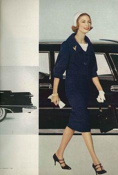 February Vogue 1958