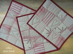 Ulla's Quilt World: Tablecloth quilts