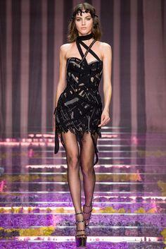 Atelier Versace Fall 2015 Couture Fashion Show - Sasha Pivovarova