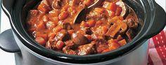 Slow cooker beef stew