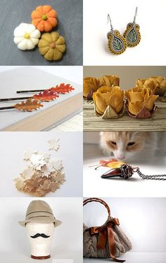 Colors of Fall by Leann Burns on Etsy--Pinned with TreasuryPin.com