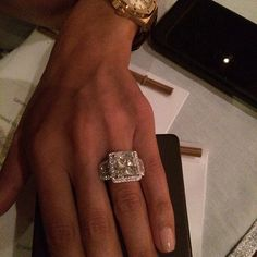 engagement ring.. Shiva Safai and Mohamed Hadid..