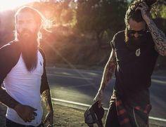 P&Co x Ricki Hall, Unloveable 2014 Collection Hairy Men, Bearded Men, Ricki Hall, Men Tumblr, Beard Styles For Men, Inked Men, Beard Tattoo, Tattoos For Guys, Sexy Men