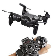 Wristwatch Camera Drone #DroneBusiness