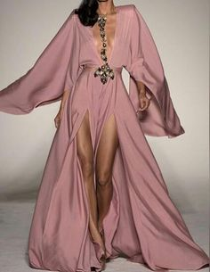 Michael Costello Kimono Dress as seen on Paris Hilton