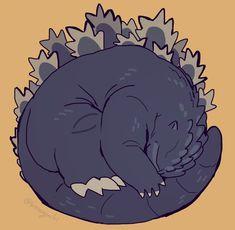 All Godzilla Monsters, Godzilla Comics, Cthulhu, Tmnt, Big Lizard, Godzilla Wallpaper, Monster House, Mecha Anime, Cute Chibi