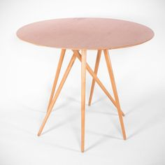 Maple contemporary table by Lawrence Laske