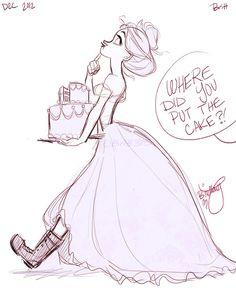 More of Brinly, the Not so princess-like Princess!
