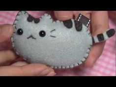 Cute plushies // I like the idea of using the stitch-patterned thread for a key ring slip