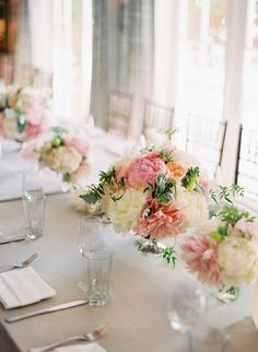 jose villa // tablescape // wedding // flowers // centerpieces