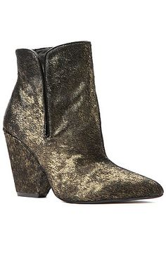Jeffrey Campbell Boot Barrie in Gold