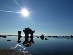 Gotland, raukar Fårö