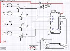 ELECTRONICA: Control secuenciador de luces led