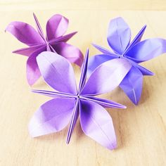 Paper Art, Paper Crafts, Origami Flowers, Origami Easy, Creative, Lotus, Cooking, Paper Flowers, Victorian