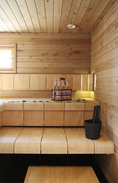 Do you want to create fabulous home sauna design ideas as your home design ideas? Creating a fabulous home sauna sounds great. In addition to making aesthetics in your home, a home sauna is very suitable for you to choose… Continue Reading → Saunas, Sauna Steam Room, Sauna Room, Spa Interior, Interior Design, Sauna Seca, Sauna House, Sauna Design, Outdoor Sauna