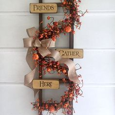 #addition #Fall #Farmhouse #Lovely #Porch #sign #Wreaths #yo This Fall Wreaths Sign is made for your Farmhouse Porch. A lovely addition to yo... This Fall Wreaths Sign is made for your Farmhouse Porch. A lovely addition to your Rustic Fall Decor by A Sentimental Season. #asentimentalseason #fallwreath #farmhousedecor