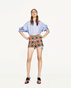 Billede 1 af CROCHET SHORTS fra Zara
