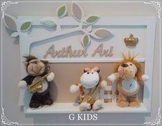 WWW.GKIDS.COM.BR Porta maternidade safari, porta maternidade provençal, porta maternidade leão,quarto de bebê, nursery,baby room