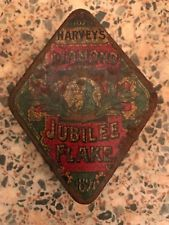 Original Harvey's Diamond Jubilee Tobacco Tin  1897