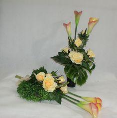 Grave Decorations, Bouquet, Funeral, Floral Arrangements, Floral Design, Flowers, Plants, Inspiration, Asia