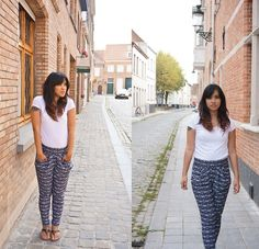ON MY LOOKBOOK  Facile à porter  Trousers + tshirt