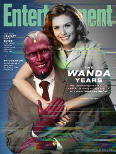 Entertainment Weekly, Marvel Entertainment, Series Da Marvel, Films Marvel, Marvel Characters, Female Characters, Paul Bettany, Elizabeth Olsen, Univers Marvel