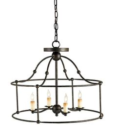 Currey - FITZJAMES #987815H X 20D X 20W   OVERVIEW PRODUCT SPECS PRODUCT NAME: Fitzjames Ceiling Mount Pendan DIMENSIONS: 15h x 20d x 20w NUMBER OF LIGHTS: 4 SHADES: Chandelier Not Suitable For Shades MATERIAL: Wrought Iron FINISH: Mayfair WATTAGE PER LIGHT: 60 TOTAL WATTAGE: 240