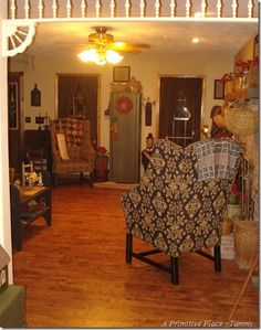 A Primitive Place ~Tammy, photo's of her home