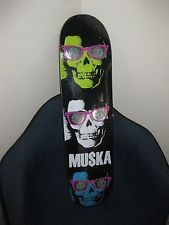 For $129.00 is an awesome CHAD MUSKA Element Skateboard DECK New SEALED Skull n Glasses ONE Skate Board! Pro Skateboards, Complete Skateboards, Element Skateboard Decks, Chad Muska, Skate Board, Skateboarding, Skull, Glasses, Awesome