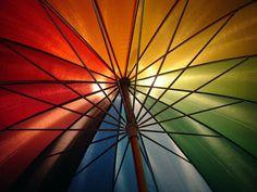 I'd love a rainbow umbrella.
