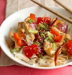 Orange Chicken Stir-