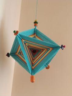 Rope Crafts, Seashell Crafts, Yarn Crafts, Diy Crafts, Weaving Projects, Weaving Art, God's Eye Craft, Loom Blanket, Flower Pot Art