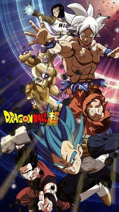 Android Gohan, Golden Frieza, Goku, and Vegeta Dragon Ball Gt, Photo Dragon, Akira, Dragonball Super, Dragon Super, Chibi, Dbz Characters, Susanoo, Anime Merchandise