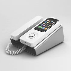 bf0990dd10fc Desk Phone Dock for iPhone Iphone Gadgets