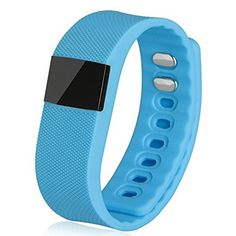 Smart Bracelet Fitness Activity Tracker Smartband Wristband X64 Waterproof Bluetooth 4.0 Intelligent Bracelet for iOS and Android- Blue * Visit the image link more details.