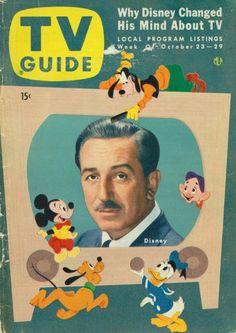 """Walt Disney """"tiene interés en la TV"""""""